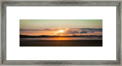 Dawn On Tiree Framed Print