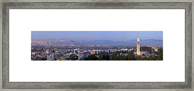 Dawn Over Berkeley Framed Print