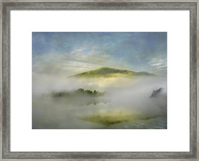 Dawn Over Lake Grasmere Framed Print by Adrian Campfield