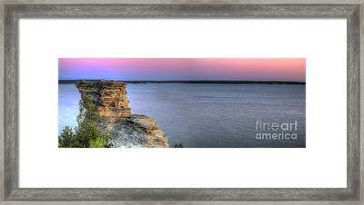 Dawn Over Miners Castle Framed Print