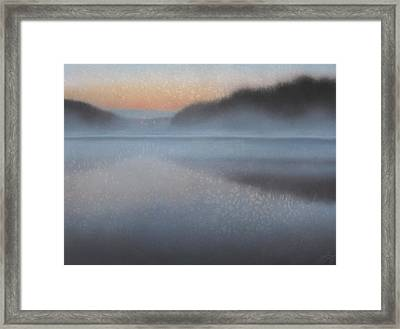 Dawn Parts The Mist Framed Print