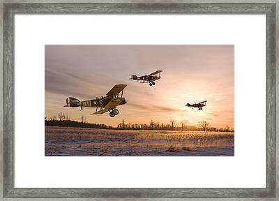 Dawn Patrol Framed Print by Pat Speirs