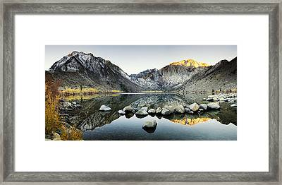 Dawn Reflections Framed Print by Andrew Soundarajan