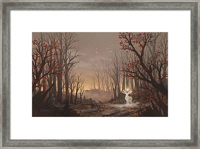 Dawn Spirit Framed Print by Cassiopeia Art