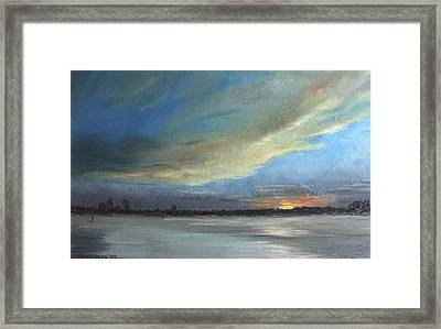 Dawn Framed Print by Susan Richardson