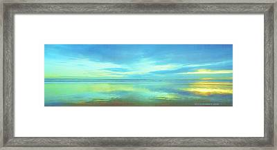 Framed Print featuring the painting Dawning Glory by Sophia Schmierer