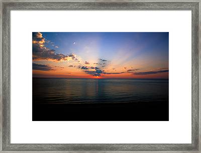 Dawning Of A Brand New Day 1 Framed Print