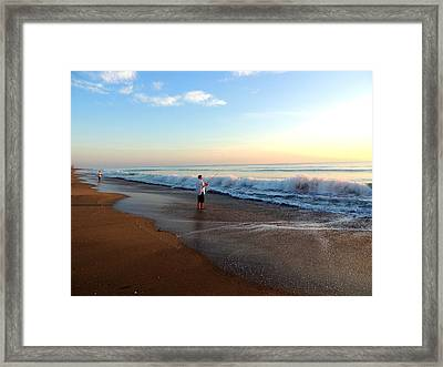 Dawning Of A New Day Framed Print