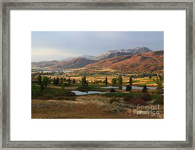 Dawn's Early Light Framed Print