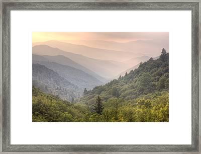 Dawn's Early Light Framed Print by Doug McPherson