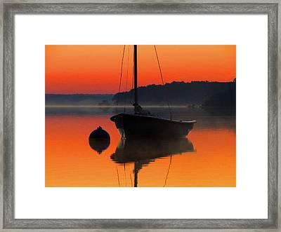 Framed Print featuring the photograph Dawn's Light by Dianne Cowen