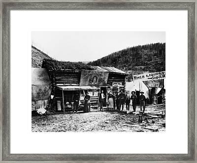 Dawson City, C1898 Framed Print