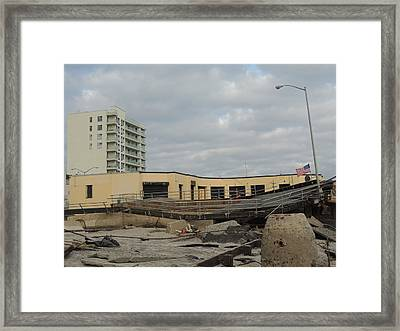 Day After Framed Print by Laurence Van Oliver