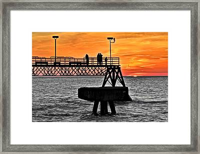 Day And Night Framed Print