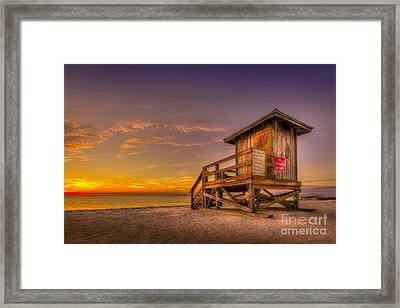 Day Before Spring Break Framed Print by Marvin Spates