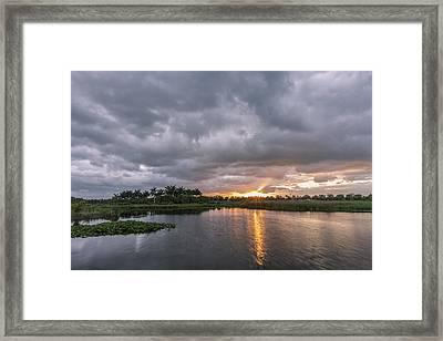 Day Beginning Framed Print by Jon Glaser