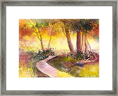 Day Break Framed Print by Anil Nene