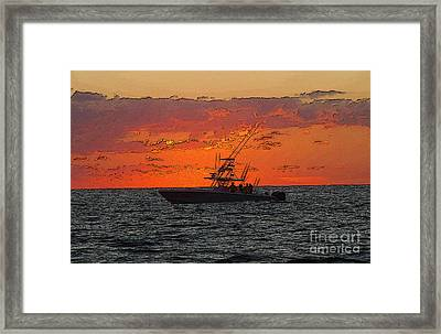 Day Break Framed Print by Carey Chen