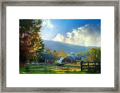 Day Break Framed Print by Diana Angstadt