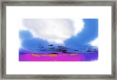 Framed Print featuring the digital art Day Break by Kirt Tisdale