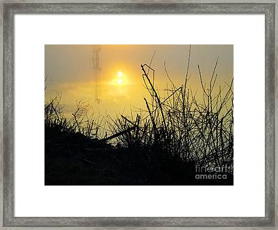 Framed Print featuring the photograph Daybreak by Robyn King