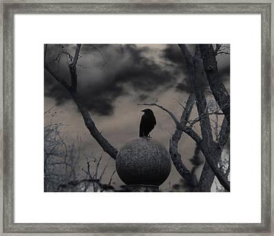 Day Dark As Night Framed Print