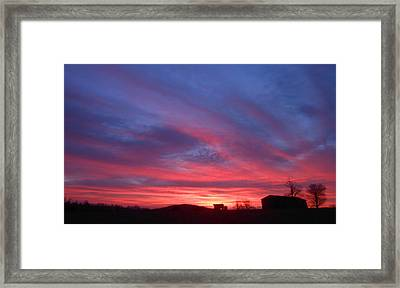 Day Dawning Framed Print by Diannah Lynch