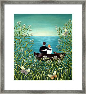 Day Dream Framed Print by Jerzy Marek