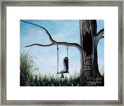 Day Dreaming By Shawna Erback Framed Print by Artisan Parlour