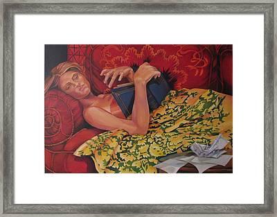 Day Dreaming Framed Print by Julie Orsini Shakher