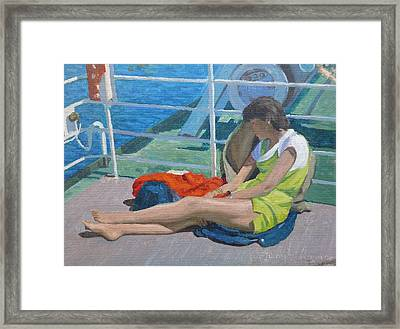 Day Dreams Framed Print by Terry Perham