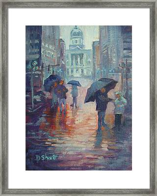 Day For Ducks Framed Print