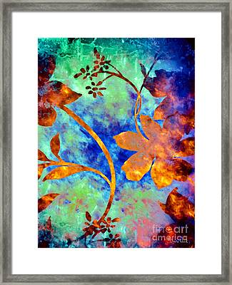Day Glow Framed Print