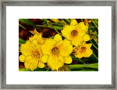 Day In-day Out Framed Print by Barry Jones