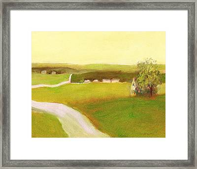 Day In The Country Framed Print
