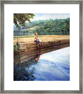 Day In The Sun Framed Print by Laura Ury