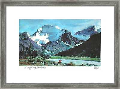 Day In The Wilderness Framed Print by Joseph Barani