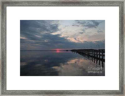 Day Is Done Framed Print by Arlene Carmel