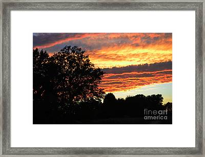 Day Is Done Framed Print by Luther   Fine Art
