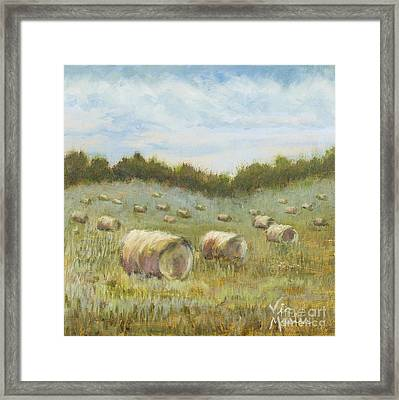 Day Is Done Framed Print by Vic  Mastis