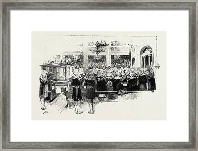 Day Of Atonement, Concluding Service Framed Print by Litz Collection