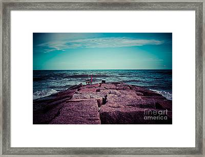 Day Off Framed Print by Will Cardoso