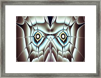 Day Owl Framed Print by Anastasiya Malakhova