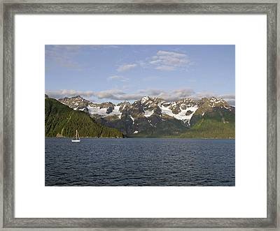 Framed Print featuring the photograph Day Sailing by Sandy Molinaro