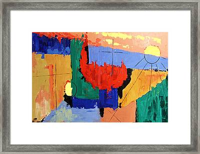 Day Seven Rest Framed Print by Anthony Falbo
