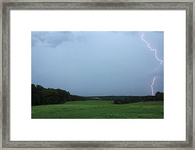 Day Strike Framed Print by Reid Callaway