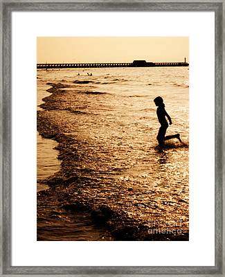 Day To Never End Framed Print