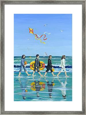 Day Tripper Framed Print by Peter Adderley