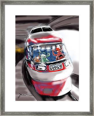 Day Trippers Framed Print