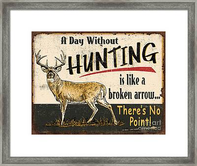 Day Without Hunting Framed Print by Don Day Jq Licensing